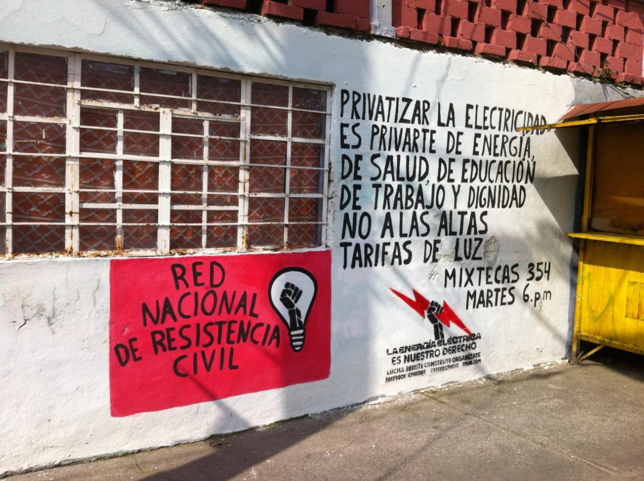 Pinta en Ciudad Nezahualcóyotl