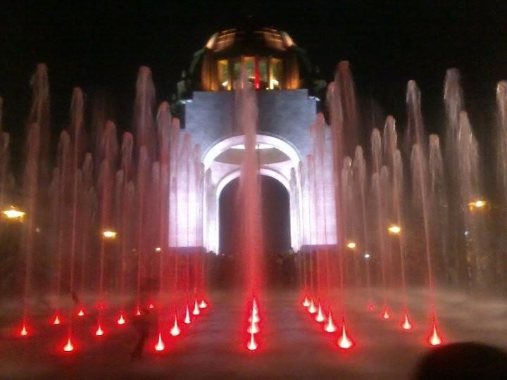 Monumento a la Revolución Mexicana en la Ciudad de México