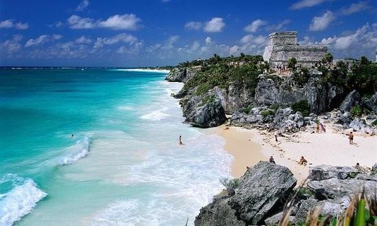 Ciudad maya de Tulum en el estado de Quintana Roo
