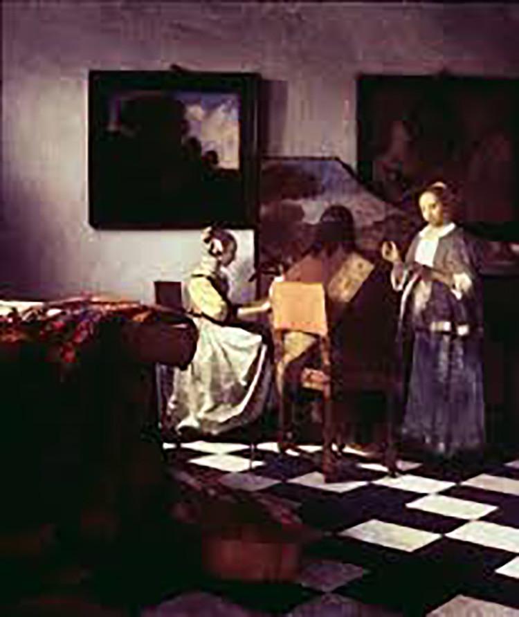 El concierto (1664), de Johannes Vermeer