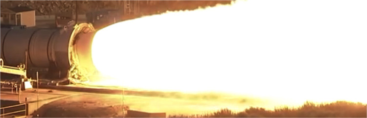 Imagen de motor de prueba QM-2, sin usar la cámara HiDyRS-X.