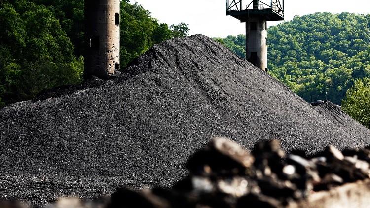 Carbón de la mina Hobet en el condado de Boone, estado de Virginia Occidental, EE.UU., el 12 de mayo de 2016.