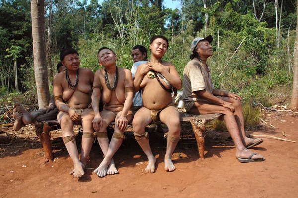 Los últimos supervivientes del pueblo akuntsu de Brasil