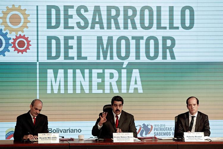 El ambicioso proyecto que podría convertir a Venezuela en una potencia minera 57aee259c361885e4a8b4573