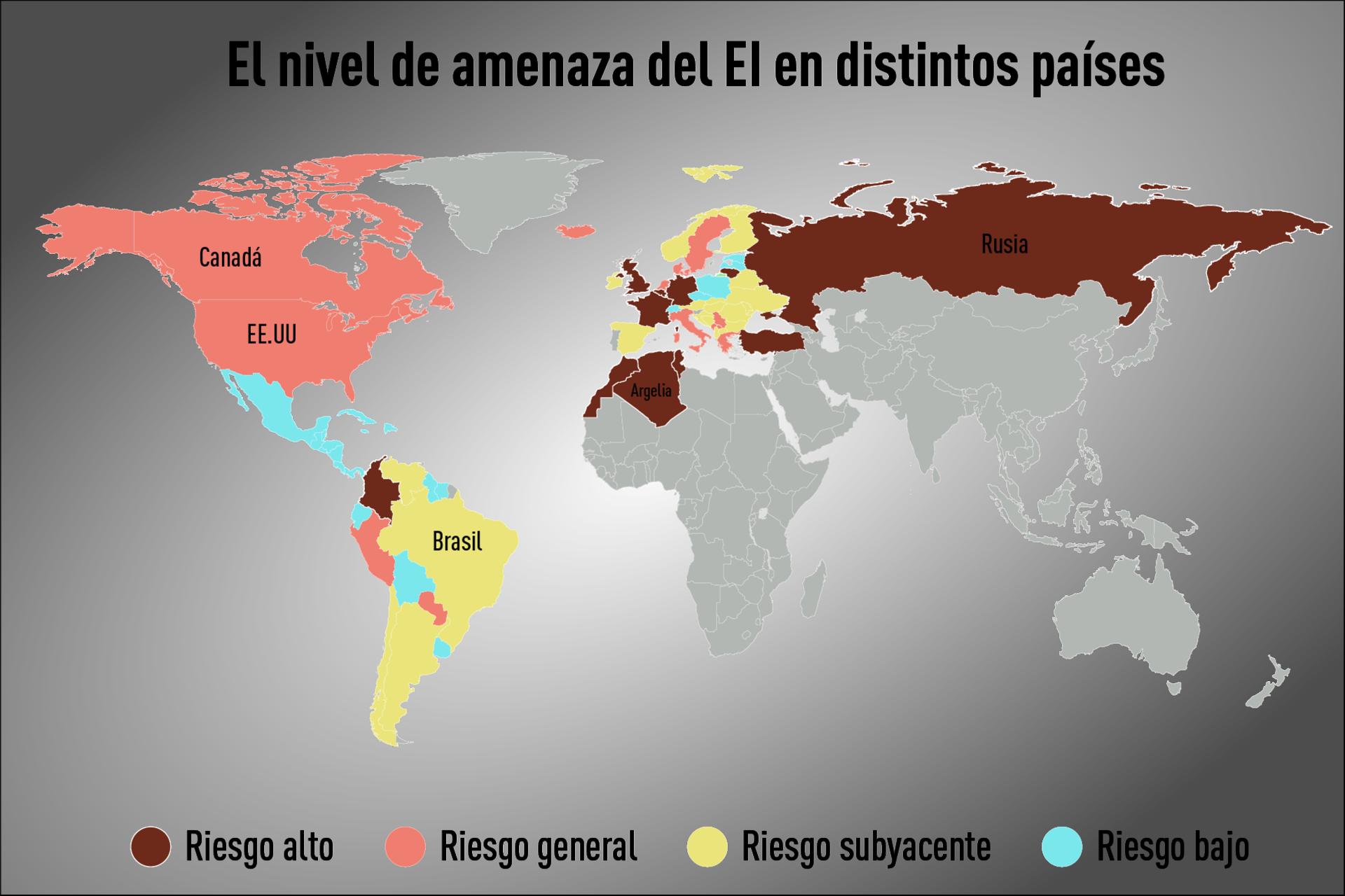 Estado Islamico Mapa Actual.El Estado Islamico Publica Un Mapa Con Sus Unidades
