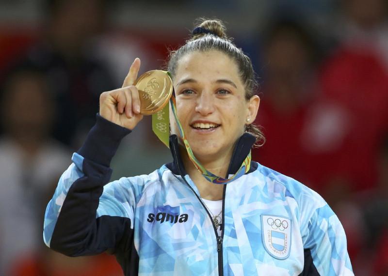 La yudoca argentina Paula Pareto ha ganado medalla dorada.