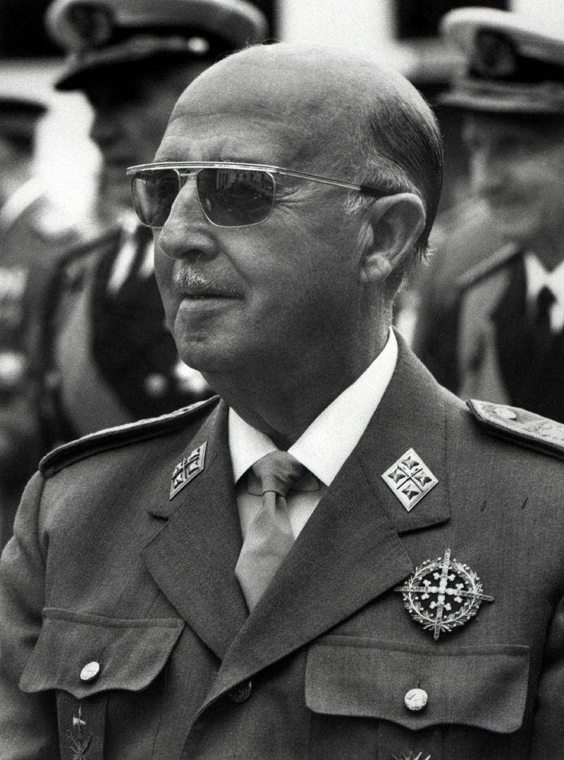 Imagen del dictador Francisco Franco