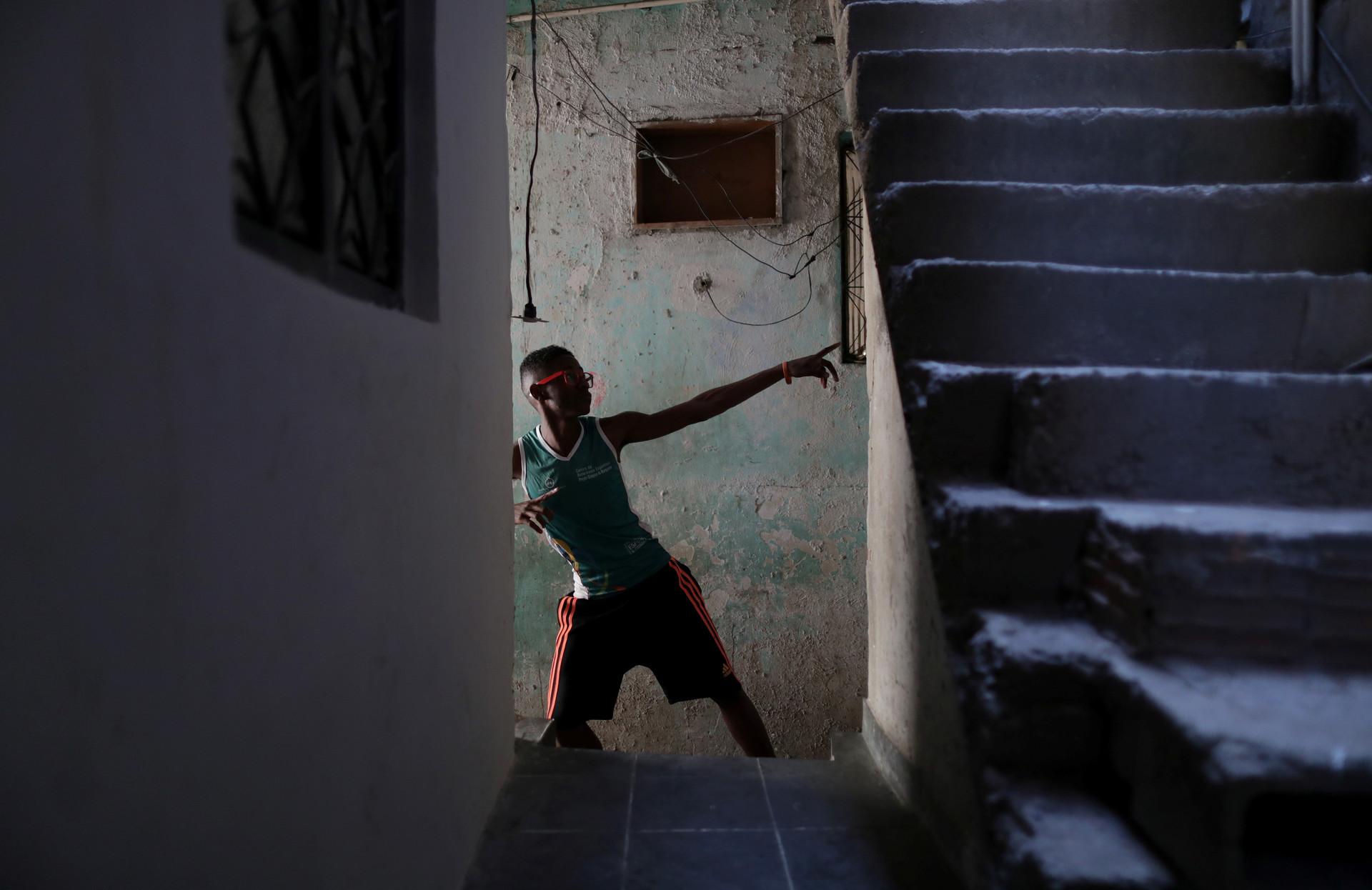 Anderson Guilherme,de 16 años, en la localidad de Jacare en Río de Janeiro, Brasil, 16 de agosto de 2016.