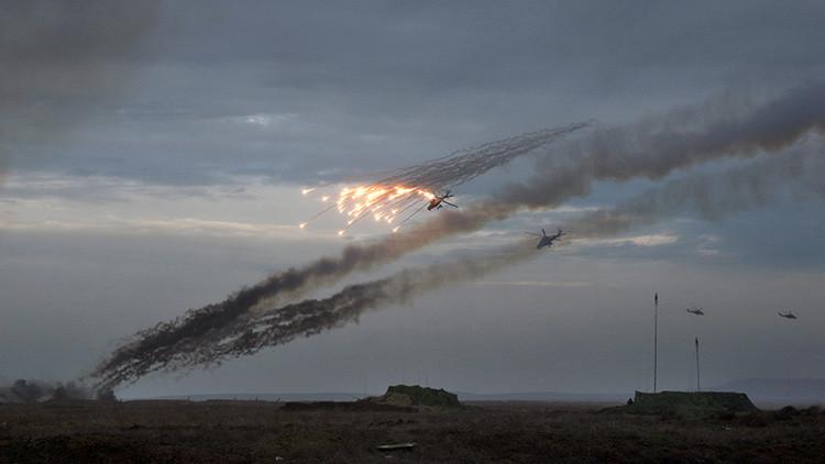 Inspección por sorpresa en Crimea, 12 de febrero de 2016.