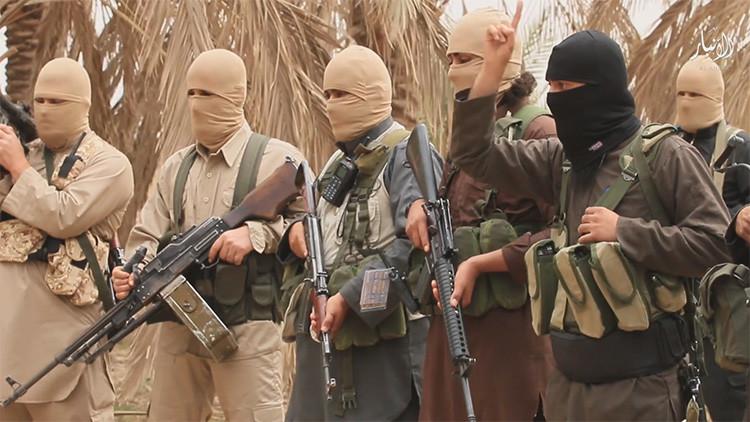 El grupo terrorista Estado Islámico