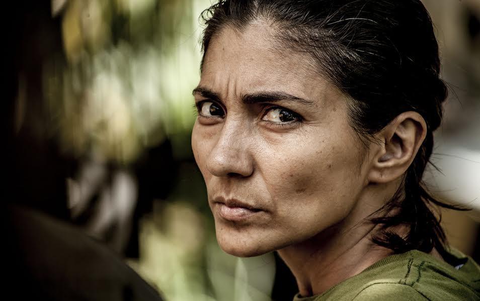 """Orailene Macarri, es abogada de pobres y campesina urbana, como ella se define. """"El Algodonal"""", Caracas, Agosto 2016"""