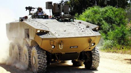 Un prototipo del vehículo blindado Eitan