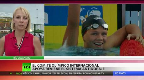 Equipo de natación ruso