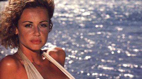 La modelo, actriz y presentadora española Esther Arroyo