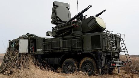 Sistema cañón-misil Pántsir-S1 en Lejano Oriente ruso