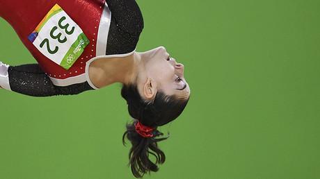 La gimnasta Ana Pérez