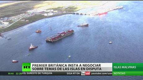 Reino Unido llama a Argentina a negociar las disputadas islas Malvinas