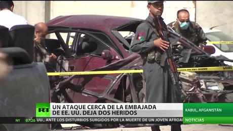 Un coche bomba deja al menos dos muertos cerca de la Embajada de EE,UU en Afganistán