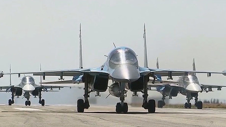 El bombardero ruso Su-34