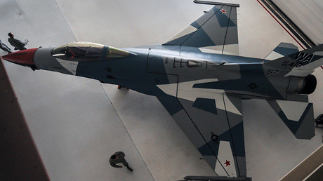 Lockheed Martin F-16 Fighting Falcon   ( caza polivalente monomotor USA ) - Página 5 57b3203dc461884c2a8b4567