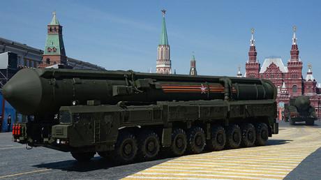 El sistema de misiles balísticos intercontinentales Yars