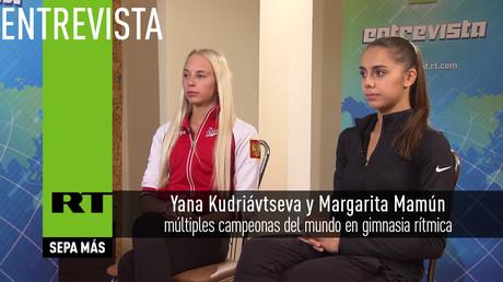 Entrevista con Yana Kudriávtseva y Margarita Mamún, campeonas del mundo en gimnasia rítmica