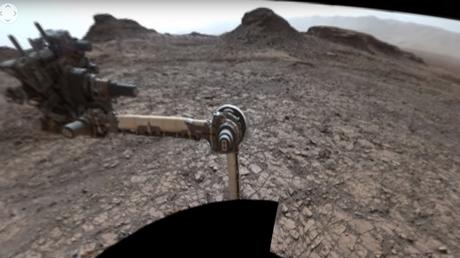 La NASA publica un video de las colinas de Marte en 360º