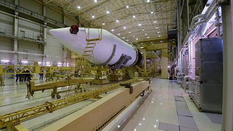 El complejo de lanzamiento de cohetes Angará