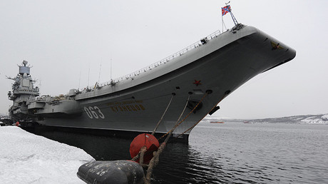 El único portaaviones ruso zarpa para Siria: ¿Cómo es el Admiral Kuznetsov?