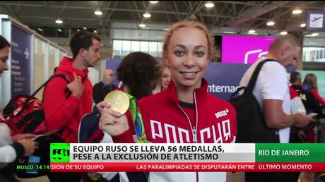 Río 2016: Rusia obtiene 56 medallas pese a la exclusión de sus atletas