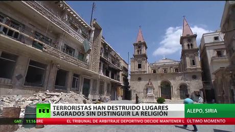 Terroristas destruyen lugares sagrados sin distinguir si son cristianos o musulmanes