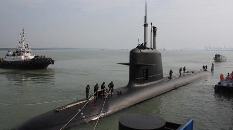 Submarino clase 'Scorpene' de la Armada malasia