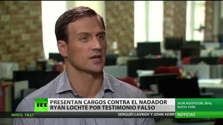 Brasil: Presentan cargos contra el nadador Ryan Lochte por falso testimonio