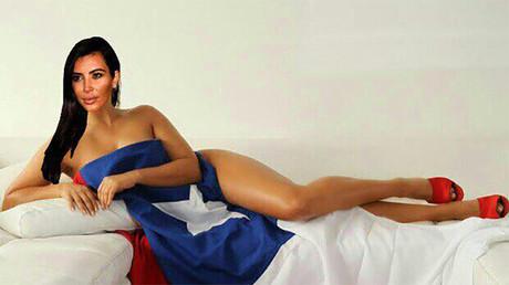 Mirando atentamente, es posible apreciar la bandera de Chile en la foto