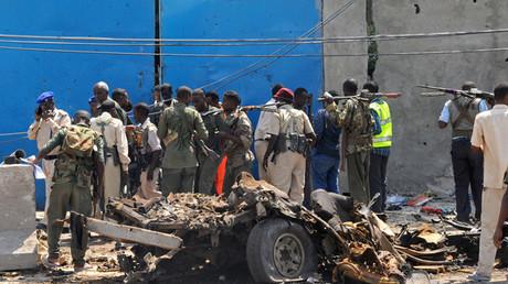 Explosión de coche bomba en Mogadiscio, capital de Somalia.