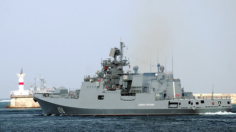 La fragata rusa clase Admiral Grigoróvich
