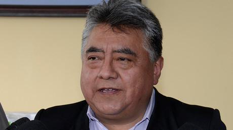 El asesinado viceministro de Régimen Interior de Bolivia, Rodolfo Illanes