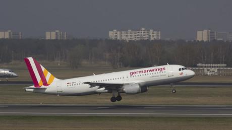 Avión de la compañía alemana Germanwings