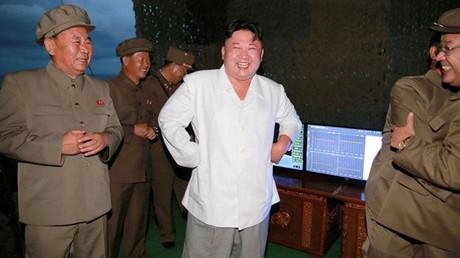 El líder supremo de Corea del Norte, Kim Jong-un.