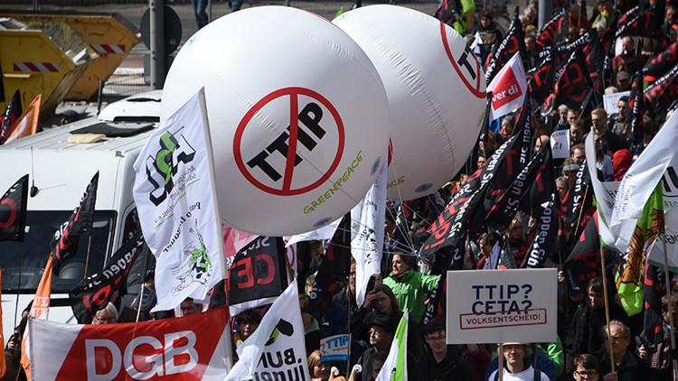 """""""El TTIP es una amenaza a todo, no queda nada a salvo"""""""