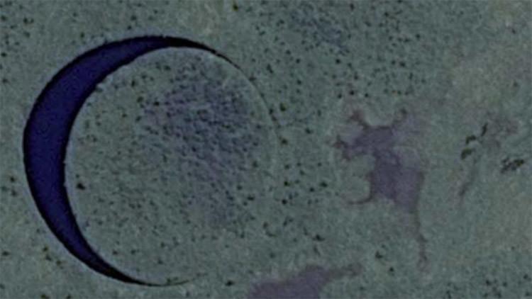 ¿Puerta extraterrestre? Hallan una desconcertante isla circular que se mueve en Argentina