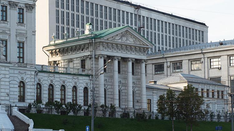 Evacúan la Biblioteca Estatal de Rusia por una amenaza de bomba
