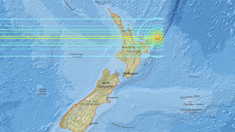 Un fuerte sismo de 7,1 sacude Nueva Zelanda