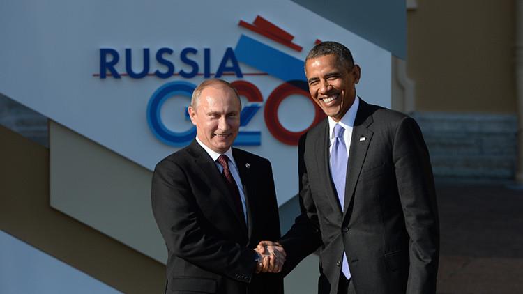 El Kremlin revela qué discutirán Obama y Putin en la cumbre del G-20