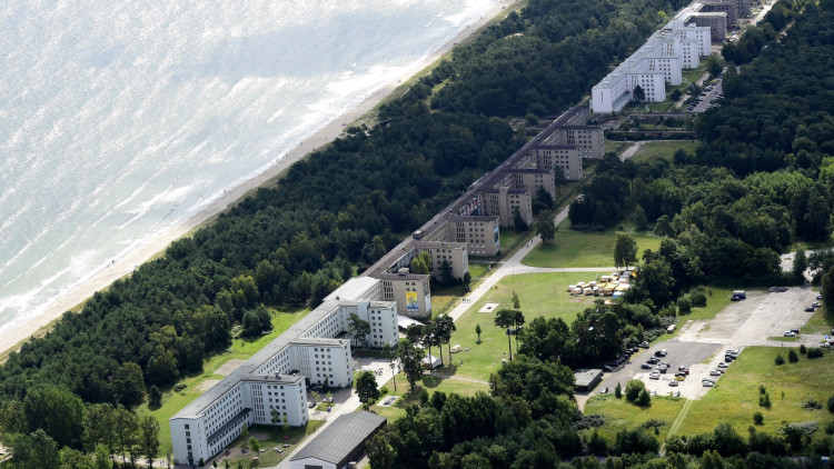 Proyecto ideado por Hitler, transformado en un controvertido balneario de lujo (fotos)