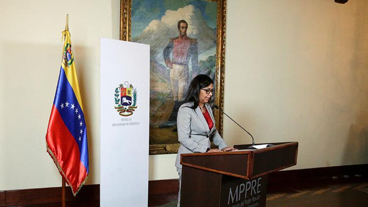 Canciller venezolana: 'Toma de Caracas' fue una reedición del plan violento de la oposición