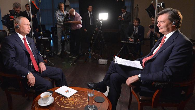 """Putin: """"Rusia está dispuesta a trabajar con cualquier presidente de Estados Unidos"""""""