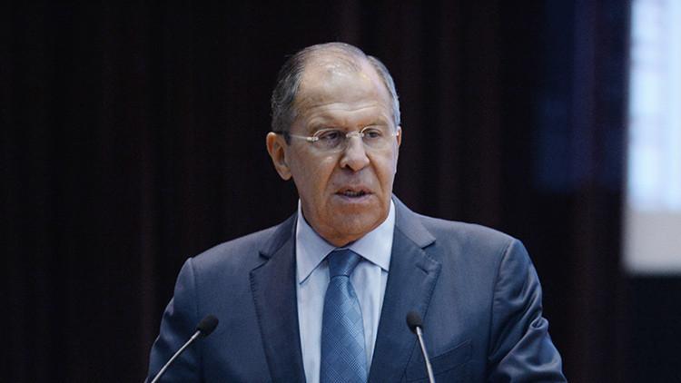 """Lavrov: """"Rusia ha llegado a un acuerdo con EE.UU. en la mayoría de los problemas sobre Siria"""""""
