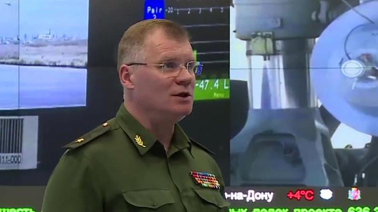 """Ministerio de Defensa ruso: """"El principal objetivo del Su-24 no era el portavoz del Estado Islámico"""""""