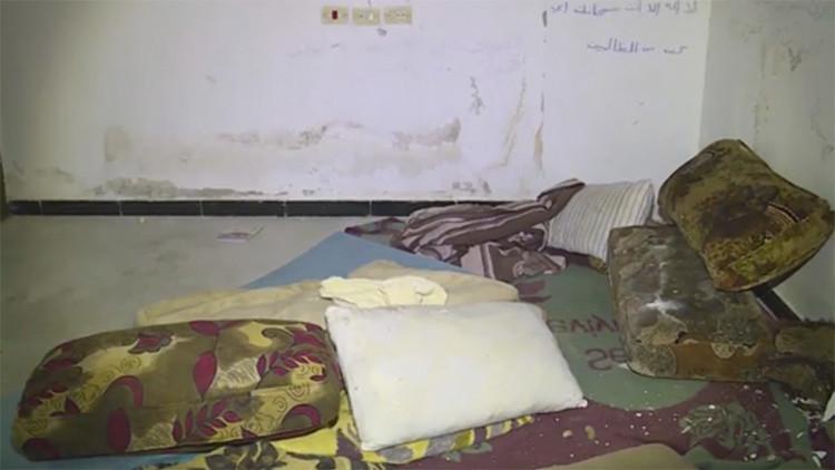 VIDEO: Así es una prisión de esclavas sexuales del Estado Islámico